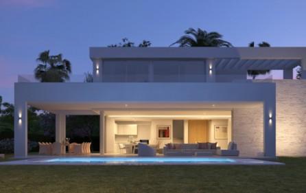 Villan på kvällen