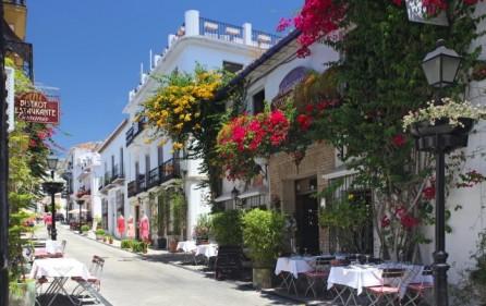 Gamla stan i Marbella