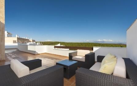 Terrass – exempel takvåning