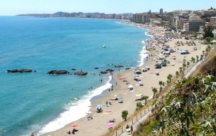 Stranden vid Carvajal