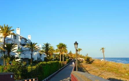 Bostadsområdet på första strandlinjen