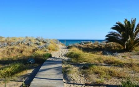 Direkt utgång mot stranden