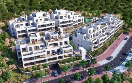 Terrasstyper i bostadsområdet