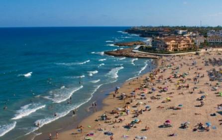 Strand i La Zenia