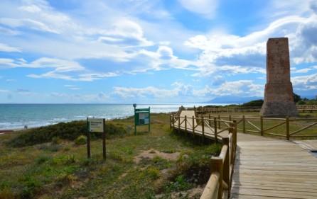 Cabopino strand och naturreservat