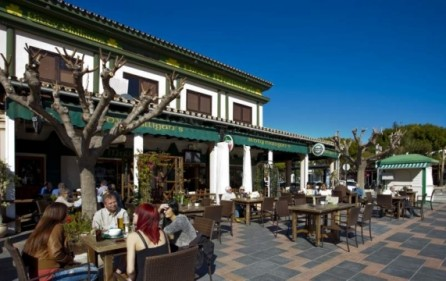 Restaurangområde i La Cala