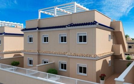 Markplanslägenheter med extra terrass på baksidan