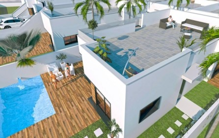 Villa med takterrass