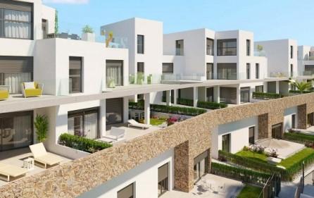 Exempel terrasser i markplan eller mellanplan