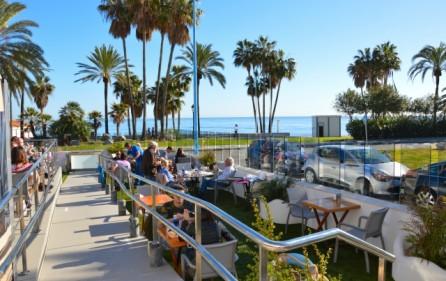 Restauranger vid San Pedro Playa