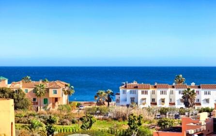 Utsikt mot Casares strand