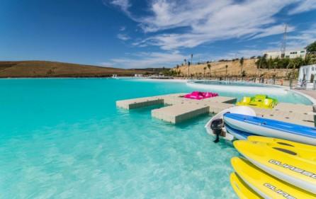 Lagun för vattensporter