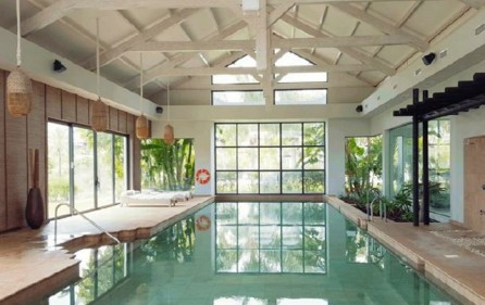 Pool inomhus vid El Campanario Club
