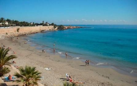 Strand i Punta Prima