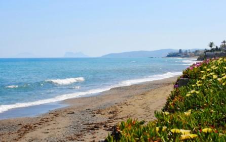 Strand vid Bahia de Estepona