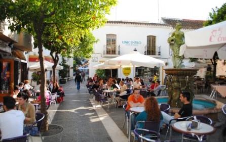Gamla stan i Estepona