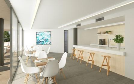 Lounge i föreningshuset