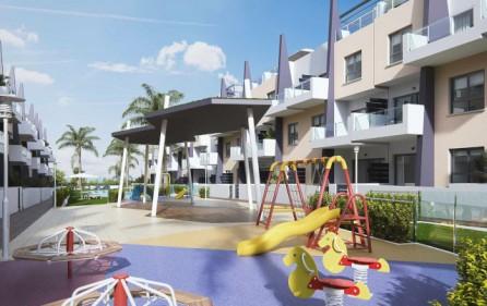 Lekpark i bostadsområdet