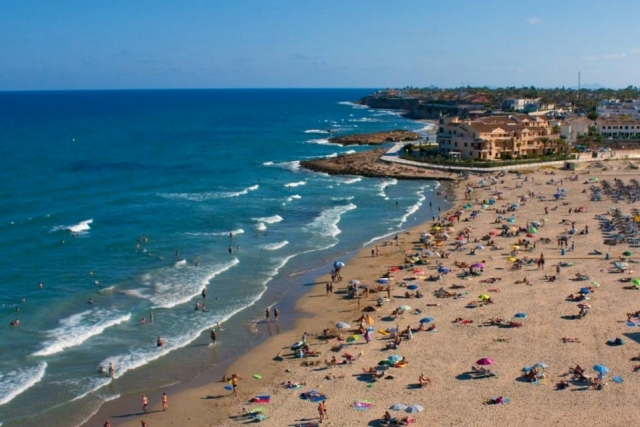 Karta Fran Alicante Till Torrevieja.Costa Blanca Alicante Torrevieja Orihuela Costa Mar Menor