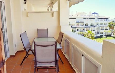 Matplats på terrassen