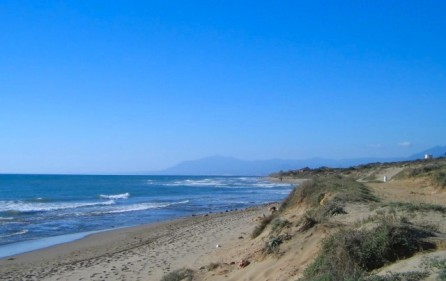 Sanddyner – Cabopino naturreservat
