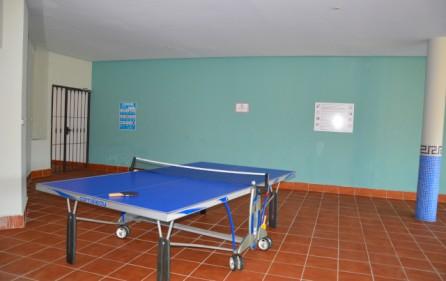 Pingisbord i SPA-anläggningen