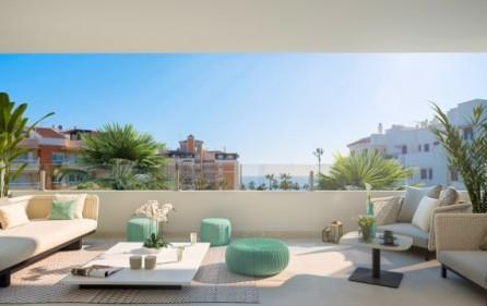 Exempel terrass på mellanplan
