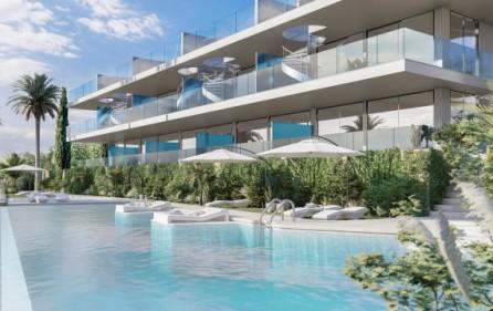 Poolområde – exempel olika terrasser