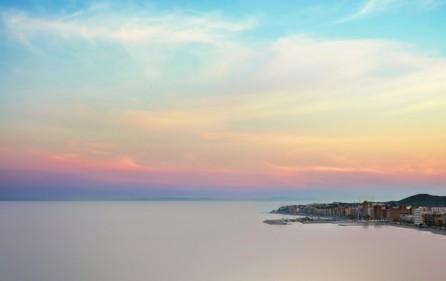 Utsikt mot kusten