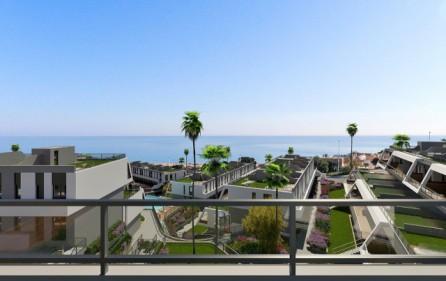 Exempel havsutsikt från terrass